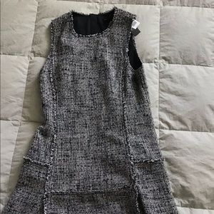 Banana Republic Tweed fit and flair dress size 10